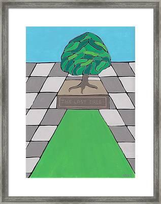 The Last Tree Framed Print by Barbara St Jean