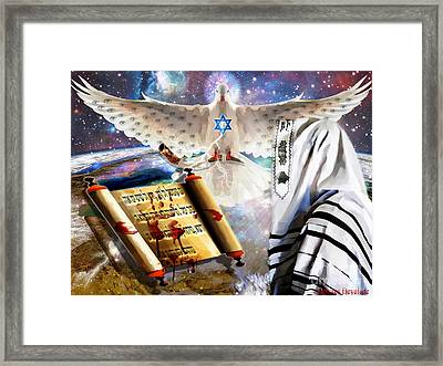 The Last Trumpet Framed Print by Dolores Develde