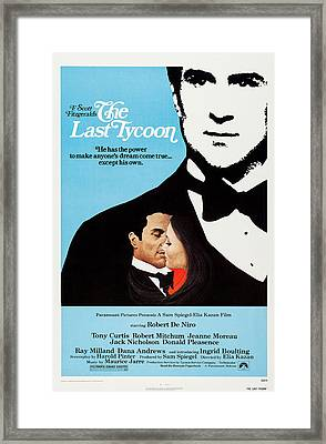 The Last Tycoon, Top And Bottom Left Framed Print by Everett