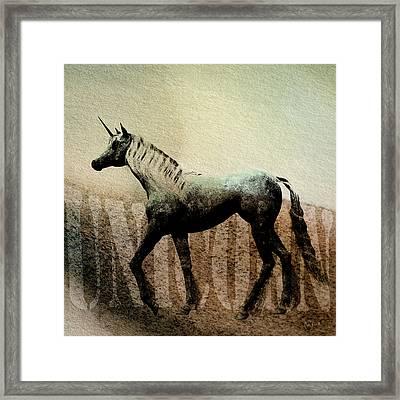 The Last Unicorn Framed Print by Bob Orsillo