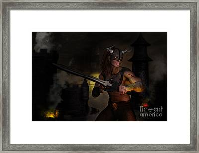 The Last Warrior Framed Print