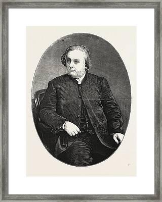 The Late Dr. H. J. Gauntlett Framed Print