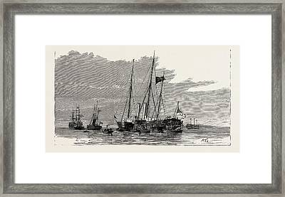 The Late Duke Of Albany The Royal Yachts Osborne Framed Print