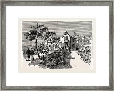 The Late Duke Of Albany The Villa Nevada Cannes Framed Print