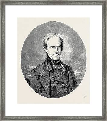 The Late Henry Clay Framed Print