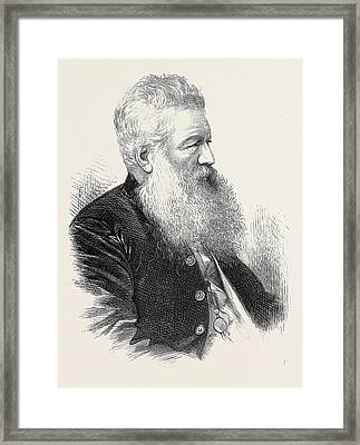 The Late Mr. R. Young Sheriff Elect Of London 1871 Framed Print