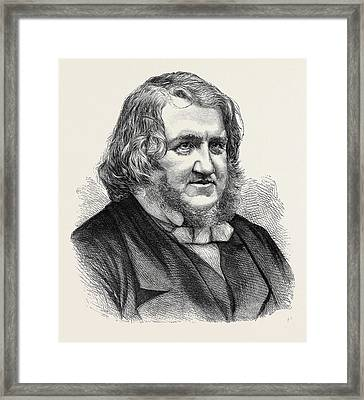 The Late Sir James Young Simpson Framed Print