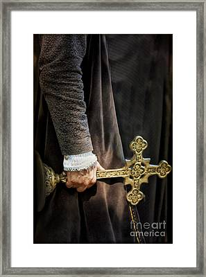 The Law Framed Print by Margie Hurwich