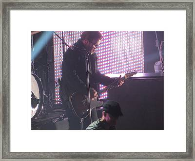 The Leadsinger Of Newsong Framed Print by Aaron Martens