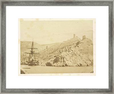 The Leander Framed Print by British Library