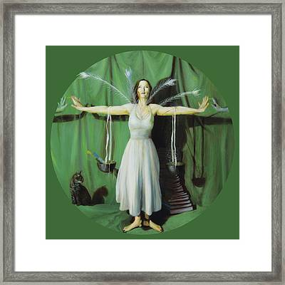 The Leaver Framed Print by Shelley Irish