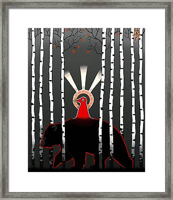 The Left Hand Path Framed Print by Maxim Sukharev