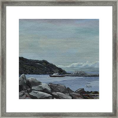 The Legacy - Monhegan Maine Framed Print by J R Baldini IPAP