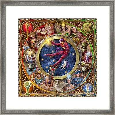 The Legacy Of The Devine Tarot Framed Print