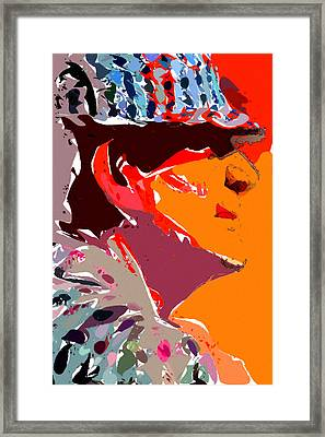 The Legend Bear Bryant Framed Print