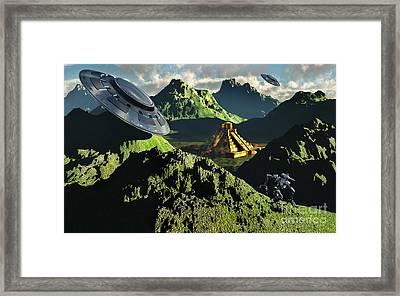 The Legendary South American Golden Framed Print by Mark Stevenson