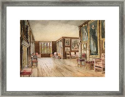 The Leicester Gallery, Knole House Framed Print by David Hall McKewan