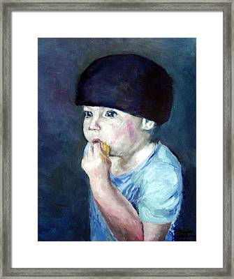 The Lemon Eater Framed Print
