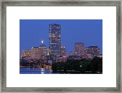 The Lenox Hotel Framed Print