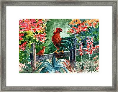 The Lesson Framed Print by Marilyn Smith