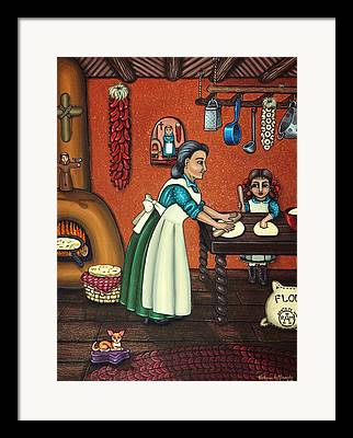 Chicana Framed Prints