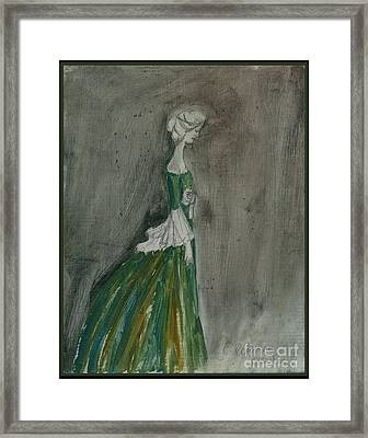 The Letter 2001 Framed Print by Cathy Peterson