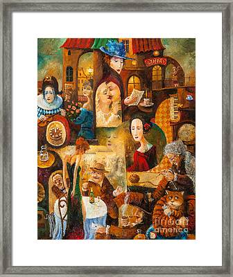 Framed Print featuring the painting The Letter by Igor Postash