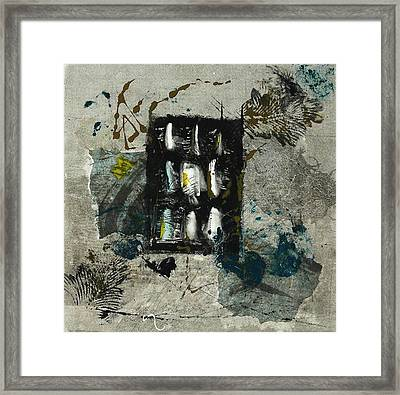 The Letter Framed Print by Lesley Fletcher