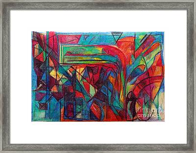 The Letter Raish Framed Print by David Baruch Wolk