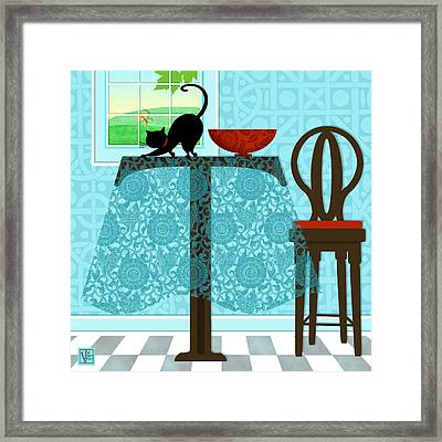 The Letter T Framed Print