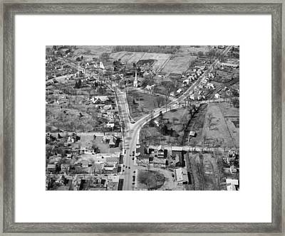 The Lexington Battle Green Framed Print by Underwood Archives