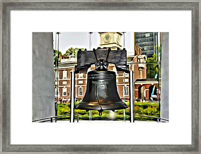 The Liberty Bell Framed Print