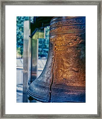 The Liberty Bell In Philadelphia Framed Print by Mountain Dreams