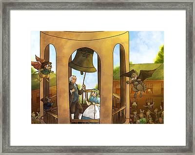 The Liberty Bell Framed Print by Reynold Jay