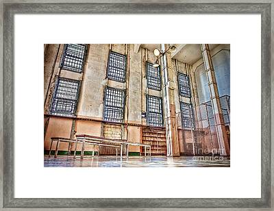 The Library Framed Print by Andrew Brooks