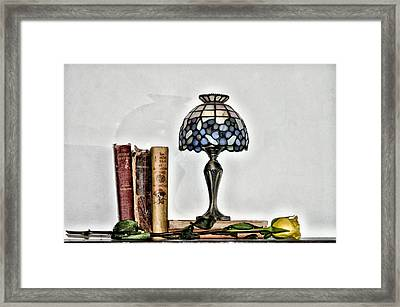 The Library Framed Print by Bill Cannon