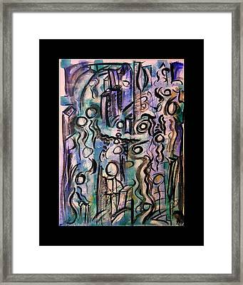 The Life Of People Framed Print by Mimulux patricia no No