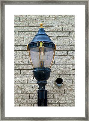 The Light And The Spout Framed Print