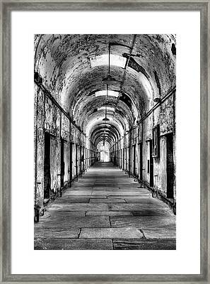 The Light At The End  Framed Print