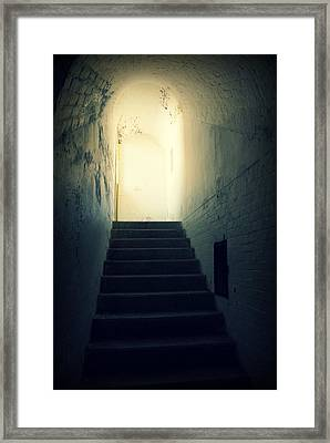 The Light At The Top Of The Stairs Framed Print