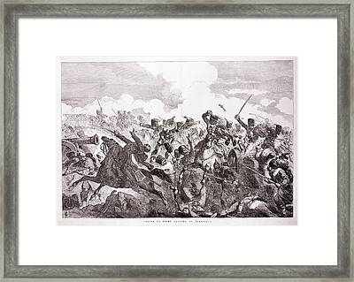 The Light Brigade Framed Print by British Library