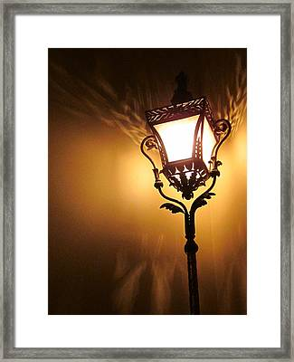 The Light Dances Framed Print by Guy Ricketts