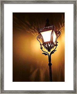 The Light Dances Framed Print by Guy Ricketts