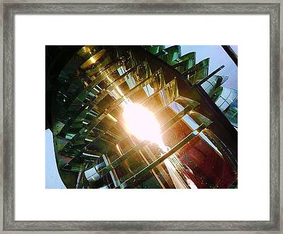 Framed Print featuring the photograph The Light by Daniel Thompson