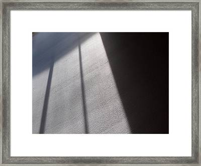 Framed Print featuring the photograph The Light From Above by Steven Huszar