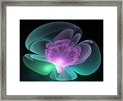 The Light Inside  Framed Print