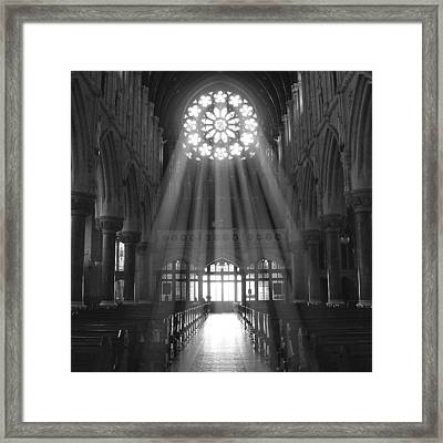 The Light - Ireland Framed Print