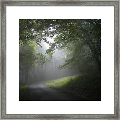 Framed Print featuring the photograph The Light Leading Home 3 by Diannah Lynch