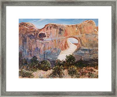 The Light Of God Framed Print