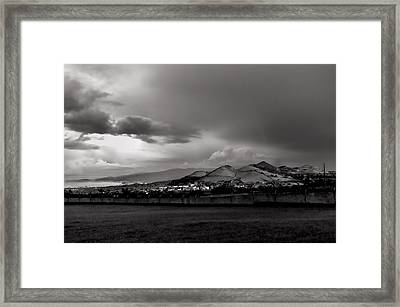 The Light Of Heaven Framed Print